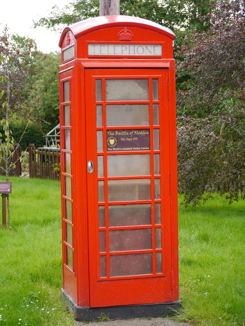 'The World's Smallest Visitor Centre'...