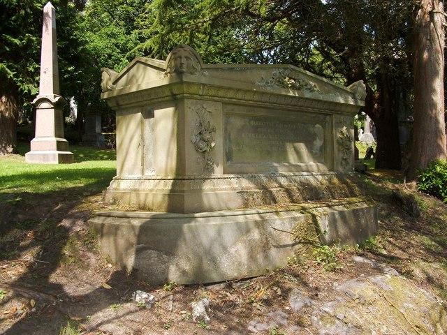 Memorial to Robert Baine