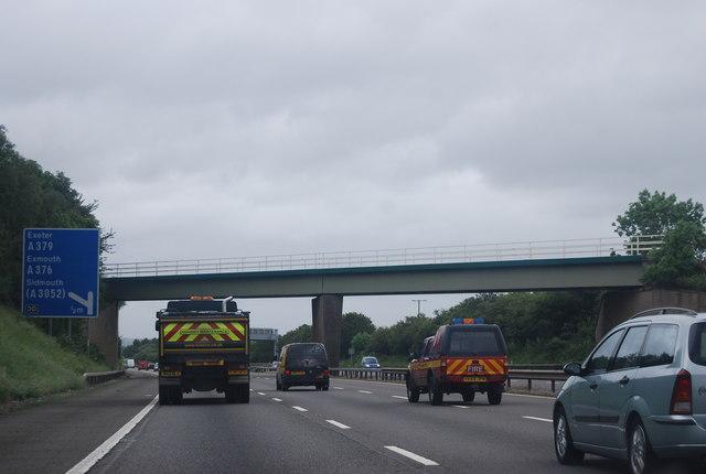 Railway Bridge across the M5