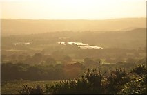 ST1116 : Mid Devon : Countryside Scenery at Sunset by Lewis Clarke