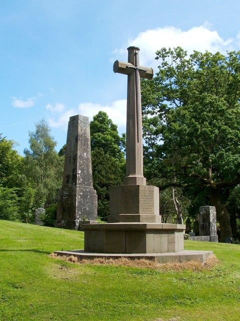 War Memorial in Greenock Cemetery