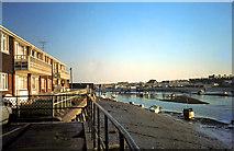 TQ2104 : Shoreham Footbridge over the River Adur 1970's by Dave Spicer