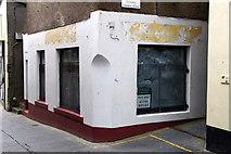 HU4741 : Empty shop, Commercial Street, Lerwick  by Mike Pennington
