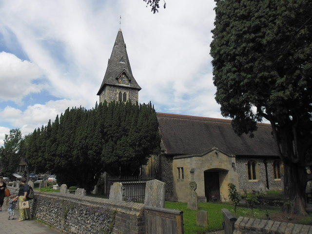 A mid summer visit to St Mary the Virgin,Hayes (a)