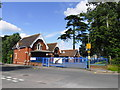 TQ4065 : Rear entry to Hayes School by Basher Eyre