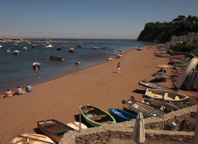 Beach at Shaldon