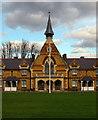 TQ3390 : Drapers Almshouses, Bruce Grove, Tottenham by Julian Osley