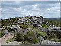 SK2583 : Towards a trig point on Stanage Edge by Andrew Hill