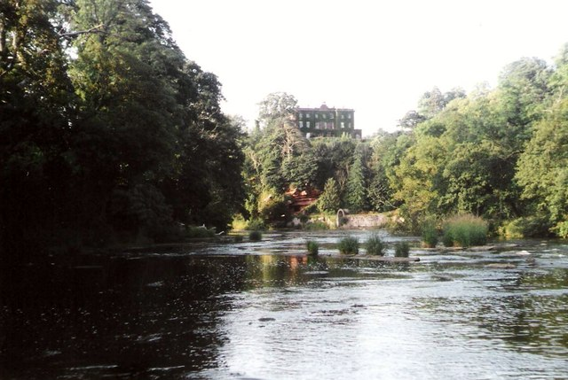 River Eden and Corby Castle
