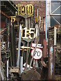 SK4175 : Railway Signs by Dave Pickersgill
