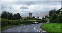 SD7139 : The road into Great Mitton by Anthony Parkes