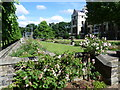 TQ3079 : Lambeth Palace from the terrace of the rose garden, Lambeth Palace Gardens by Marathon