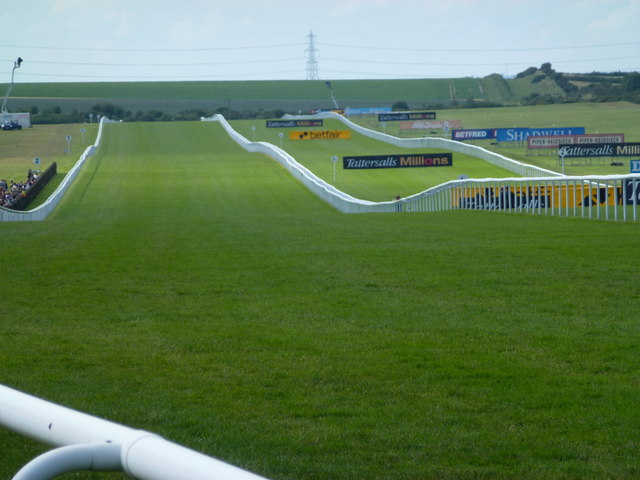 The July Course, Newmarket - An uphill finish