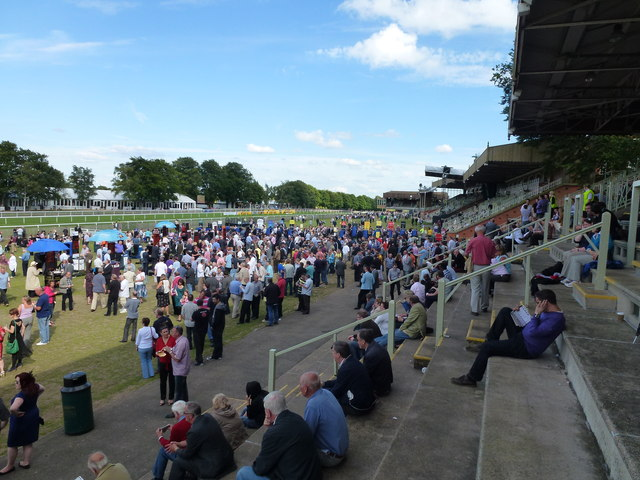 The July Course, Newmarket - Punters and bookmakers