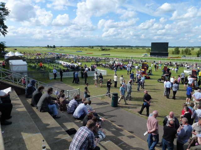 The July Course, Newmarket - Looking towards the Garden Enclosure
