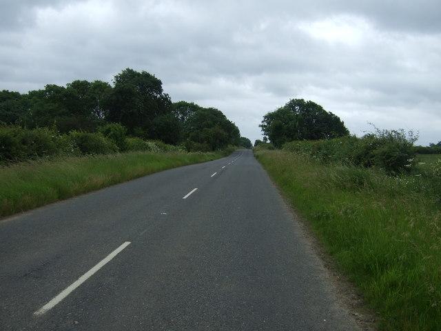 Stamford Road towards Marholm