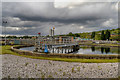 SD7604 : Sewage Treatment Plant, Ringley fold by David Dixon