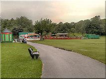 SD6911 : Funfair, Moss Bank Park by David Dixon