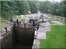 SE1039 : Bingley Five Rise Locks by John Slater