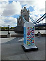 TQ3380 : BT ArtBox at More London by PAUL FARMER
