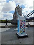 TQ3380 : BT ArtBox at More London by PAUL FARMER
