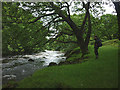 SD1993 : The River Duddon at Ulpha by Karl and Ali