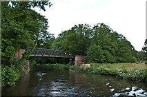 SU9946 : Downs Link Bridge by Ian Capper