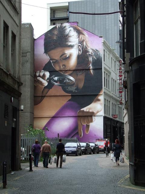 Smug mural