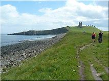 NU2522 : Footpath, Dunstanburgh Golf Course by Alexander P Kapp