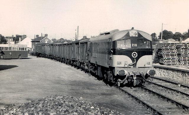 Goods train, Ardee (2)