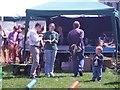 SP9211 : Tring Carnival - the ferrets prepare! by Rob Farrow