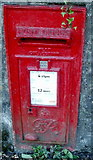 SO2606 : Wall-mounted George VI postbox, Cwmavon by Jaggery