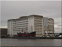 TQ4180 : Spillers' Millennium Mills, Royal Victoria Dock by David Anstiss