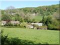 SO2705 : Afon Lwyd valley south of Cwmavon by Jaggery