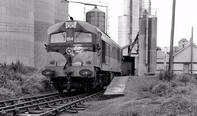 Shunting at Ardee station