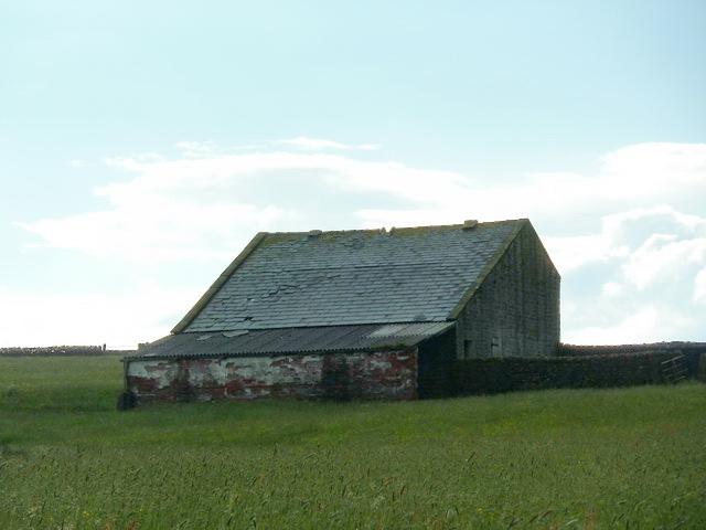 Barn north of Rotten Edge Plantation