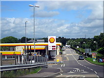 ST0207 : Cullompton Services Junction 28 M5 by Roy Hughes