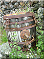 SD1994 : Rustic barrel at Brighouse by Karl and Ali