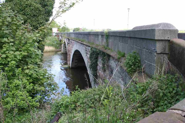 Frodsham road bridge
