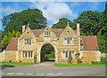 SK8632 : Denton Manor Gatehouse by Trevor Rickard