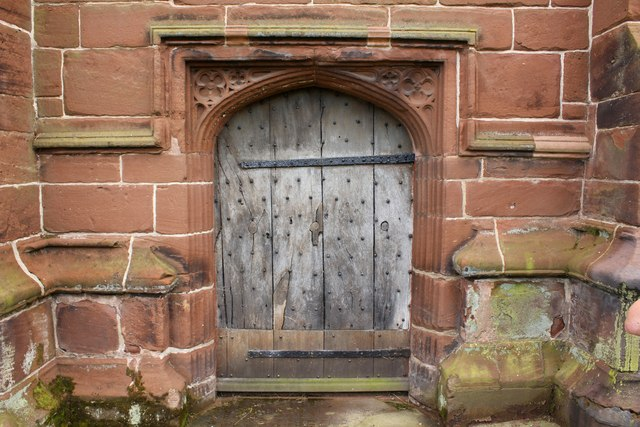 The North Door of St Chad's Church, Holt