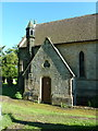 NZ0772 : The Parish Church of St Mary the Virgin, Stamfordham, Boiler house by Alexander P Kapp