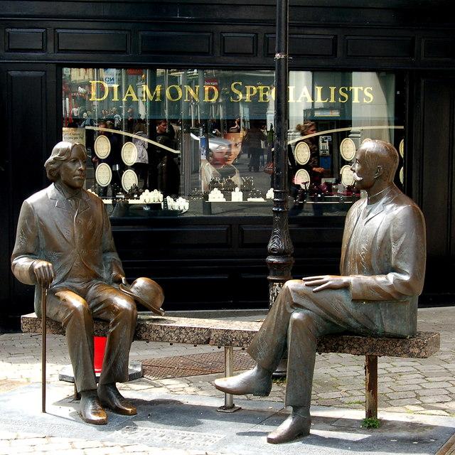 Galway - William Street - Oscar & Eduard Wilde