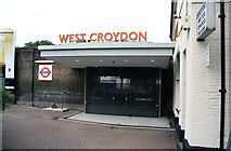 TQ3266 : West  Croydon  station:  New entrance by Dr Neil Clifton
