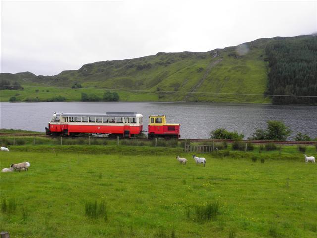 Fintown Heritage Railway Train