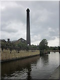 SE1039 : Mill by Leeds & Liverpool Canal at Bingley by Ian Murfitt
