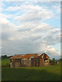 SD5273 : Corrugated iron barn near Kirkgate Lane by Karl and Ali