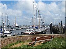 SZ3394 : Boats by Lymington River by Oast House Archive