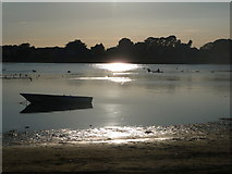 SZ1891 : Mudeford: late evening at Christchurch Harbour by Chris Downer