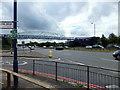 TQ1383 : Footbridge over the Western Avenue, Greenford by PAUL FARMER